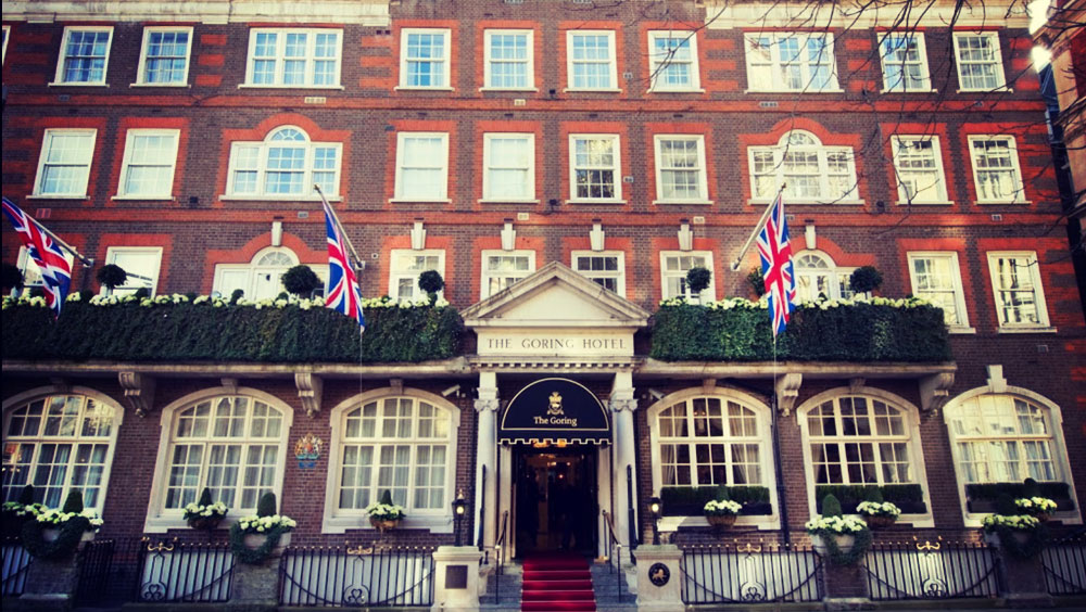 The Goring Hotel, Belgravia, London Luxury Boutique Hotel