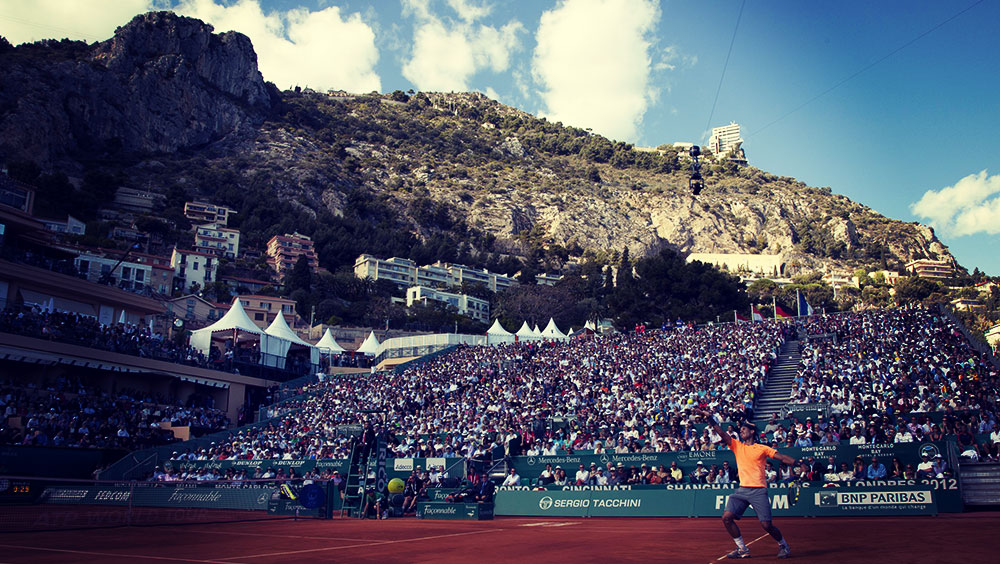 Sports | Tennis, Monte-Carlo Masters, April, Roquebrune-Cap-Martin, France