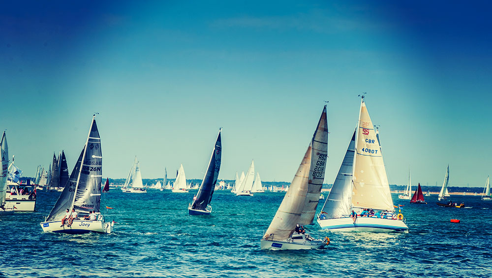 Sports | Regatta, Cowes Week, August, Cowes, Isle of Wight, UK