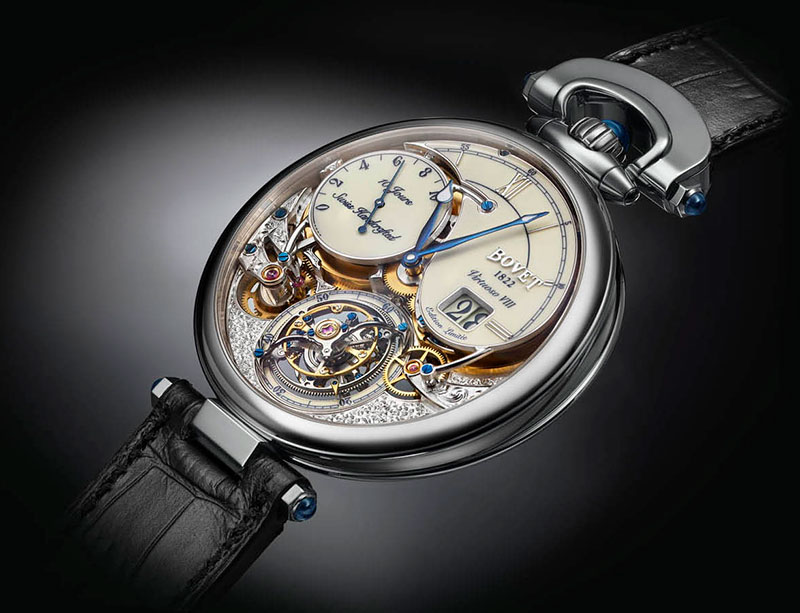 A quintessential watch. Discover the Bovet VIRTUOSO VIII
