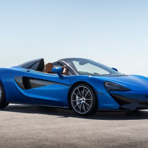 McLaren 570S Spider. For The Exhilaration.