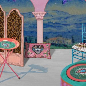 Presenting Gucci Décor, a collection of furniture and decorative pieces