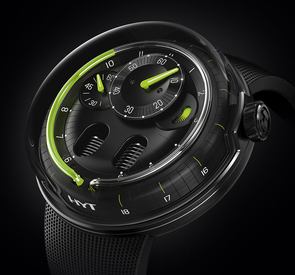 Discover the HYT H0 Collection, less is more