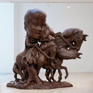 Paul McCarthy. WS Spinoffs, Wood Statues, Brown Rothkos