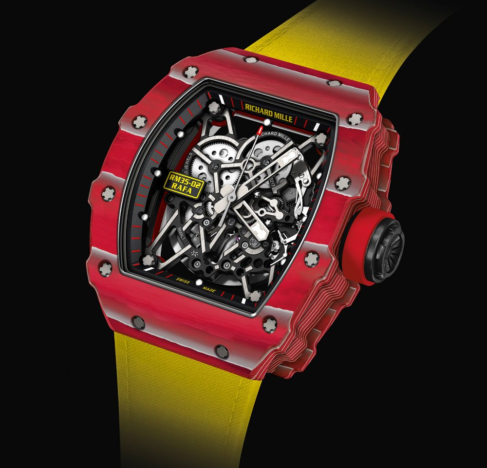 RM 35-02 Rafael Nadal by Richard Mille
