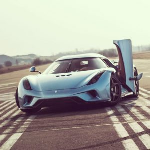 The exhilarating Koenigsegg Regera Now Sold Out