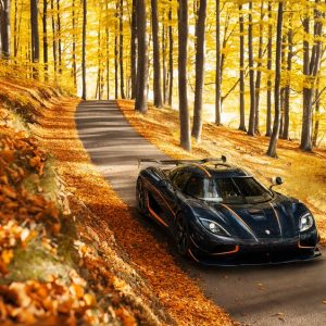 The limited edition, Koenigsegg Agera RS
