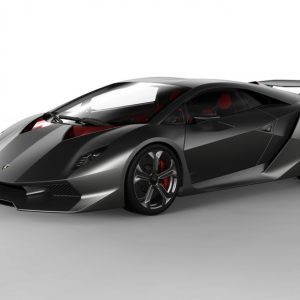 The iconic Lamborghini Sesto Elemento