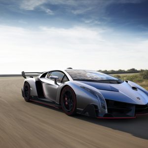 Lamborghini presents the exclusive Veneno Model
