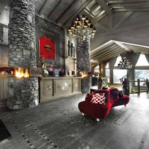 The upbeat Hotel Le K2 Palace, Courchevel 1850