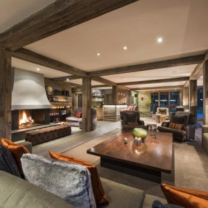The Lodge, Sir Richard Branson's Chalet in Verbier