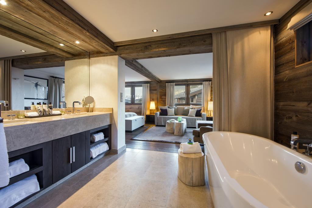 The Lodge, Sir Richard Branson's Chalet in Verbier is the perfect year-round escape