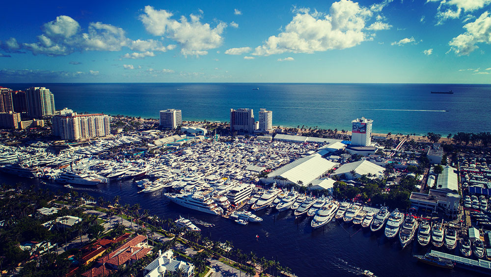 Exhibitions | Boat Show, Fort Lauderdale International Boat Show, November, Fort Lauderdale, USA