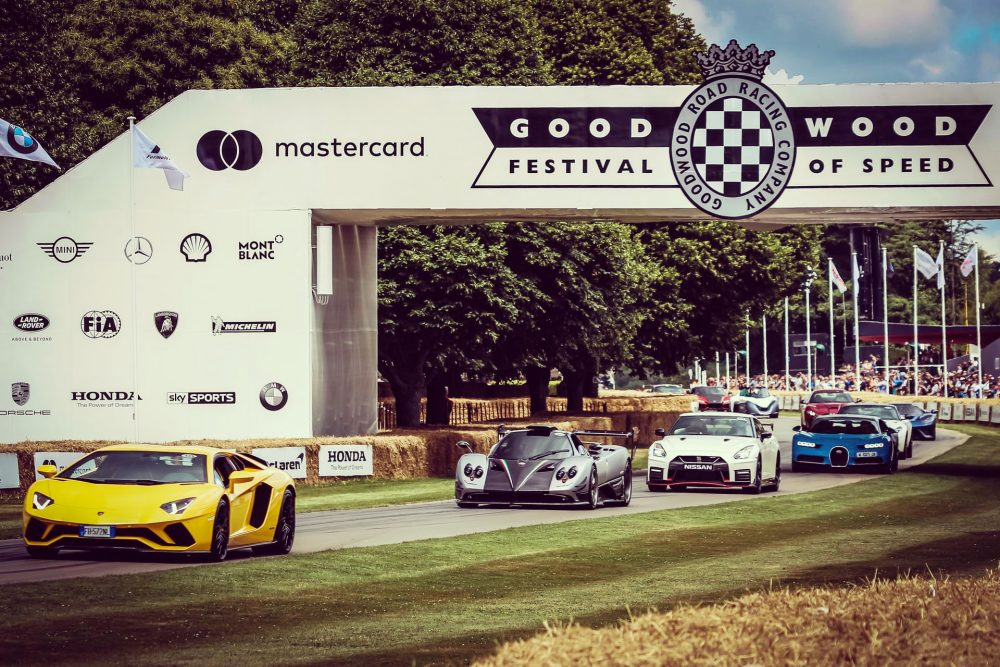 Exhibitions | Motor Show, Goodwood Festival of Speed, July, Goodwood House, West Sussex, UK