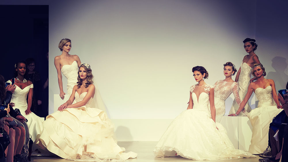 Fashion | New York Fashion Week: Bridal Autumn/ Winter, October, New York