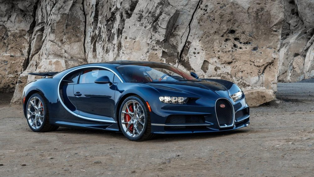 A unique art masterpiece, the Bugatti Chiron
