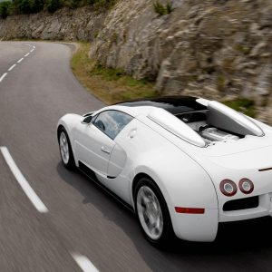 Experience the finest open-top driving with the Bugatti Veyron 16.4 Grand Sport