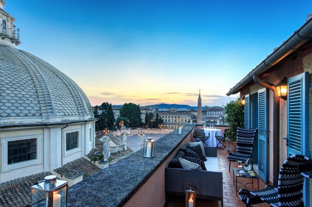 Rome's Top 5 Luxury Hotels for 2018