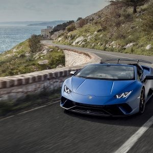 Lamborghini Huracàn Performante Spyder, impossible not to feel the thrill