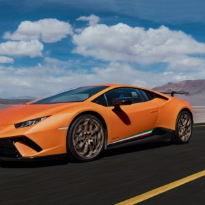 Lamborghini Huracàn Performante, extraordinary technological properties