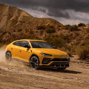 Lamborghini Urus, a groundbreaking car with extreme proportions