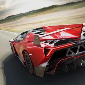 Lamborghini Veneno Roadster, supreme aerodynamic efficiency