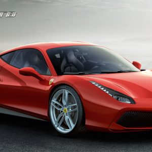 The Ferrari 488 GTB, a return to the classic Ferrari model designation
