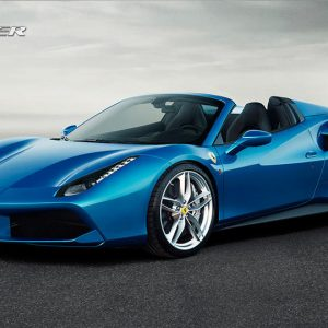 The Exquisite Ferrari 488 Spider