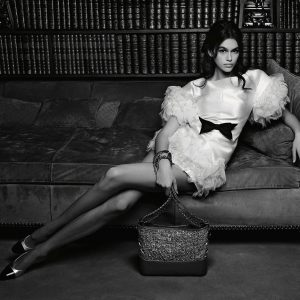 Kaia Gerber Stars In Chanel's Gabrielle, Handbag Stories, 2018