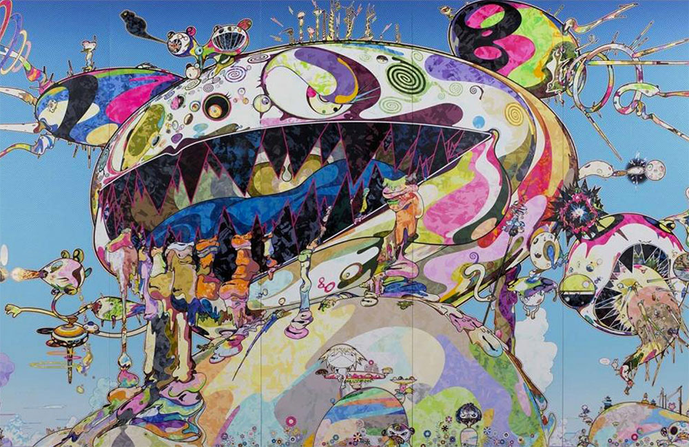 "Louis Vuitton Foundation unveils ""In Tune with the World"" Exhibition featuring works by Takashi Murakami"