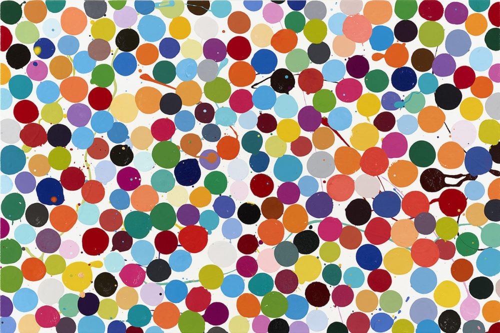 Damien Hirst's Colour Space Paintings,  May 4 – June 30 2018, Gagosian Gallery