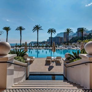 French Riviera retreat, Monte-Carlo Beach hotel, Monaco