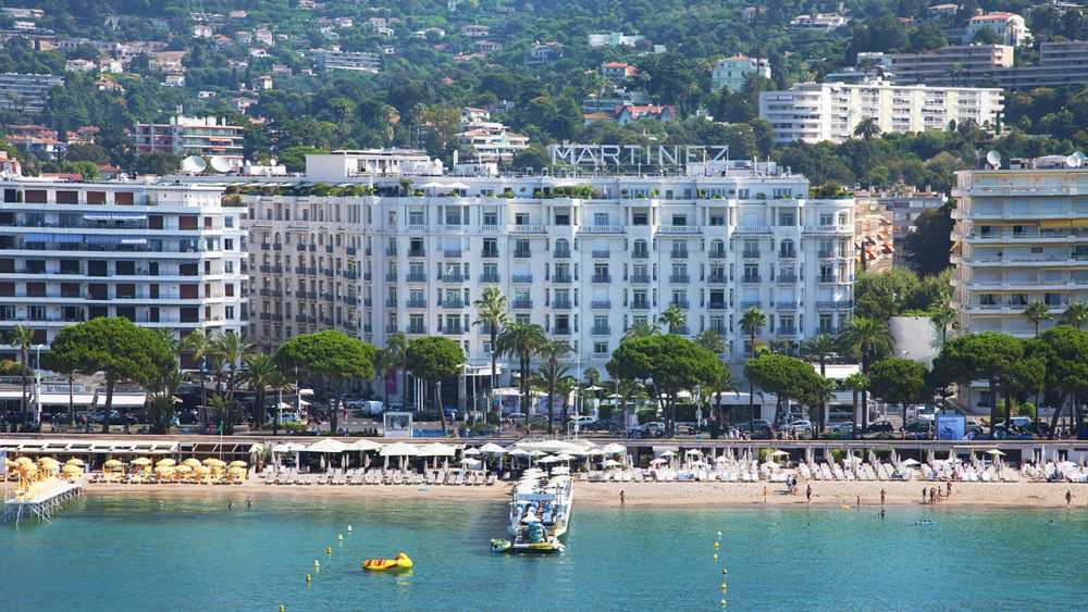Hotel Martinez, The Legendary 5 star hotel in Cannes