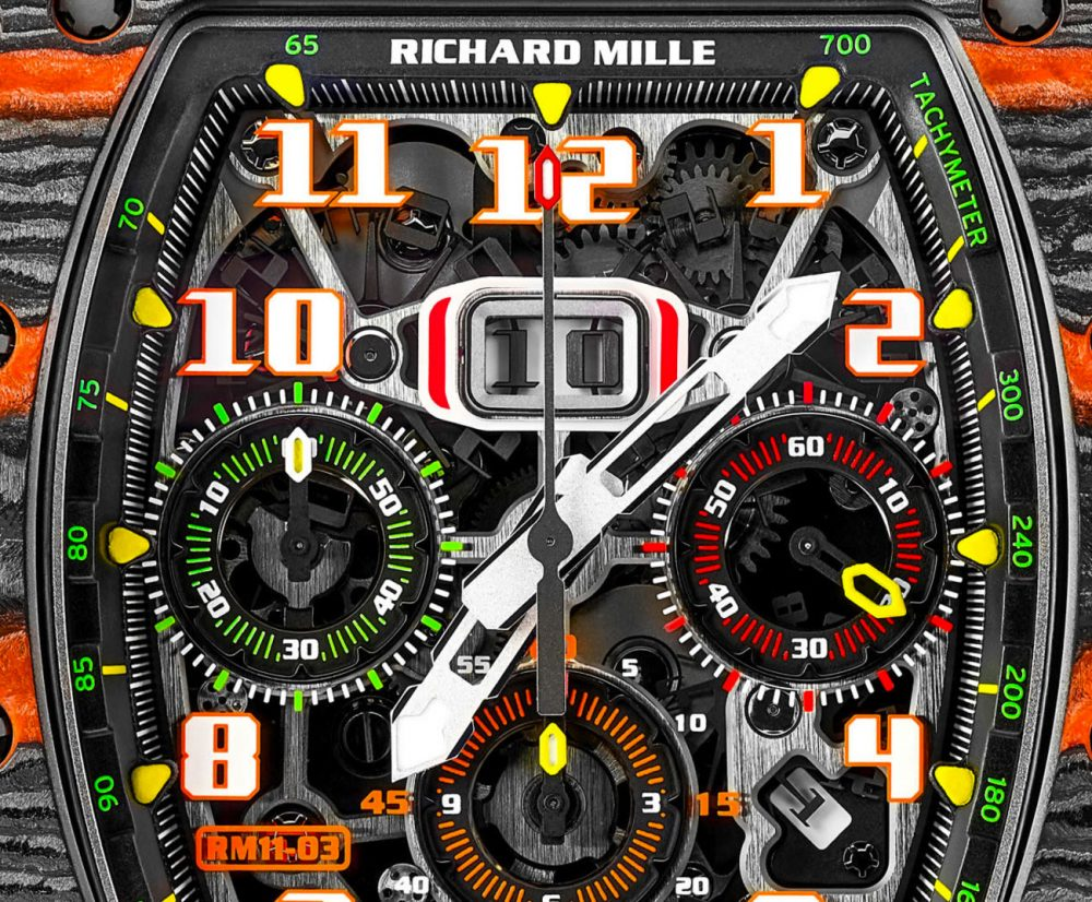 McLaren Automotive and Richard Mille launch their first timepiece, RM 11-03 McLaren