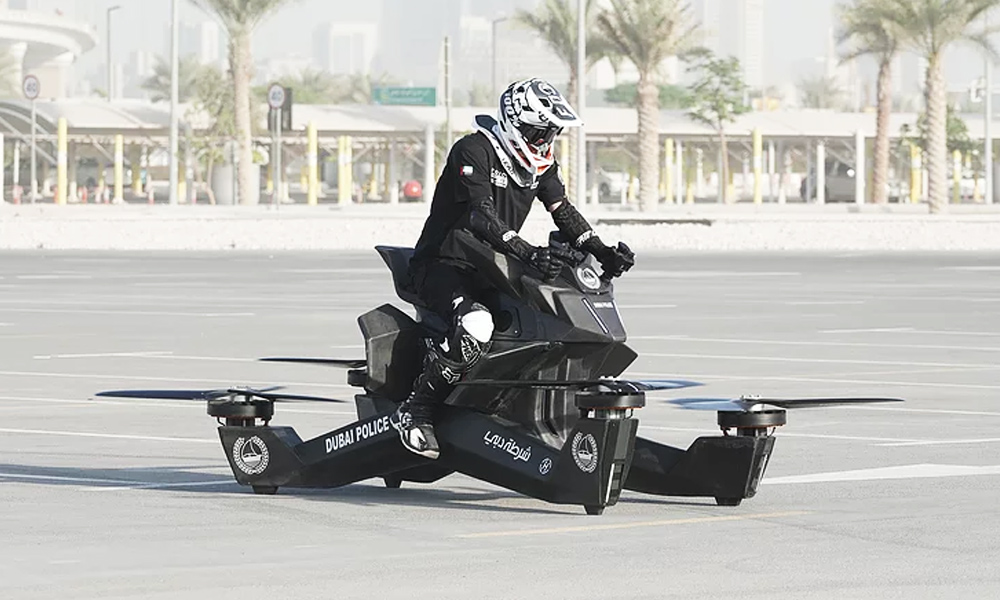 The Hoversurf Hoverbike Is a Dream Come True