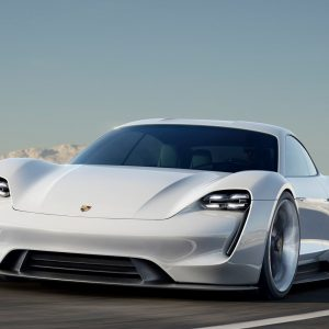 All-electric Sports car revolution: Porsche's response with the new Mission E-Taycan.