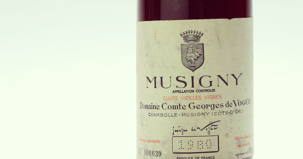 Wine | Domaine Comte Georges de Vogue, Wine Producer, Côte de Nuits, Burgundy, France
