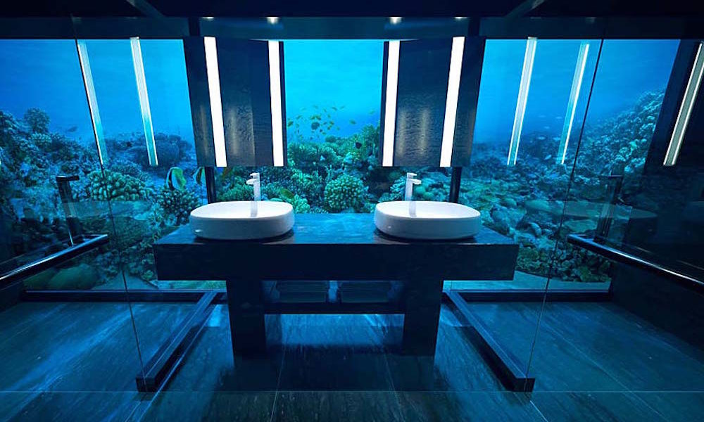 The Muraka, World's First Underwater two-level Residence