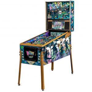 The first and only limited-edition Beatles pinball machine ever made