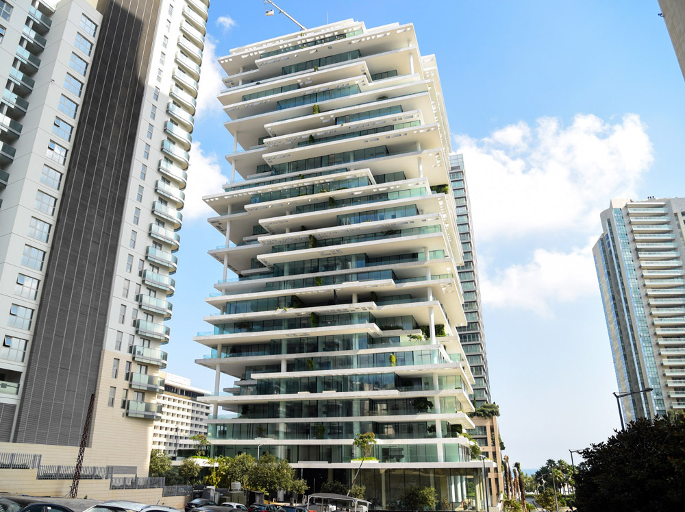 Beirut Terraces, a Unique Living Experience In a Dynamic Urban Sculpture