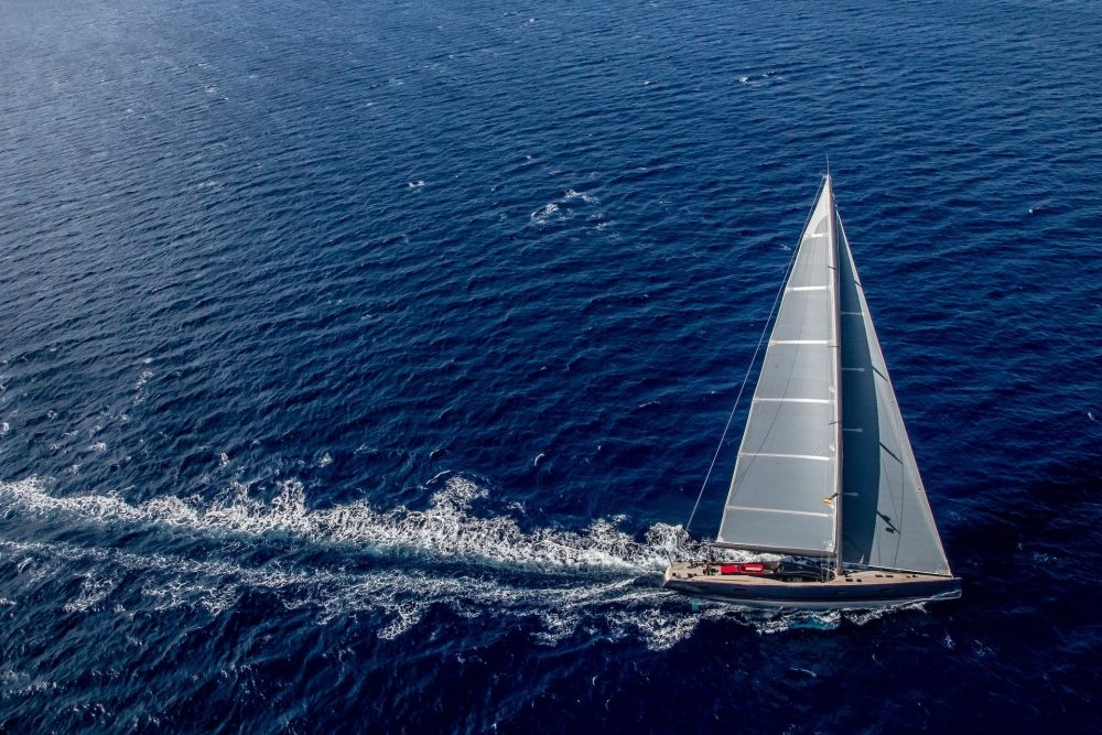 The 72m MM725 Sailing Yacht Concept by Malcolm McKeon Yacht Design