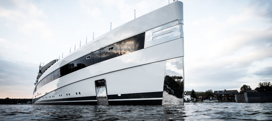 Sensational 93-metre Feadship unveiled in Kaag, Netherlands