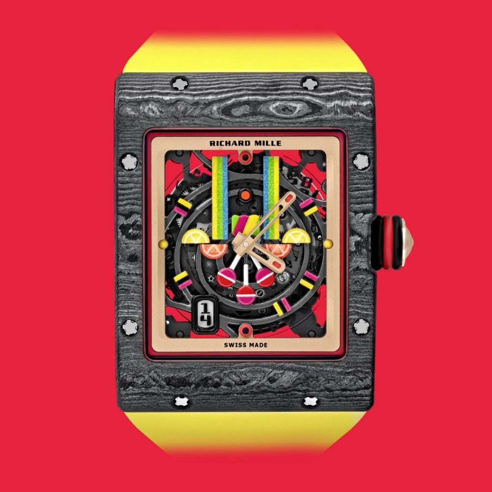 Richard Mille Bonbon Collection: Just Saying the Word is Enough To Make You Smile