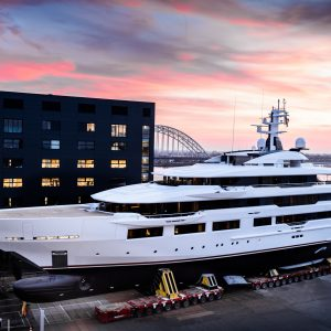 Oceanco launches 90 metre 'Dreamboat'