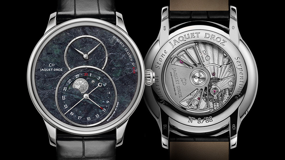 Grande Seconde Moon: A New Special Edition Spotlights Switzerland, Minerals And The Moon
