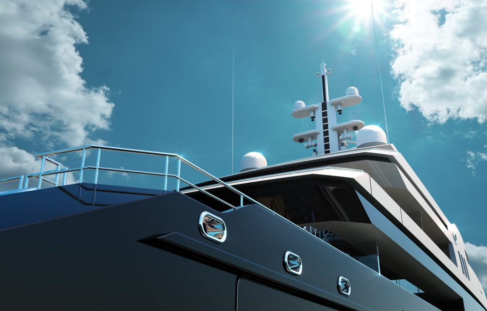 VSY 65m Waterecho Concept – A paradigm of comfort and sustainability