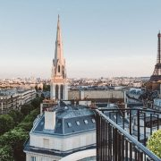 Luxury Experiences | Four Seasons Hotel George V Penthouse, 360-degree views Paris