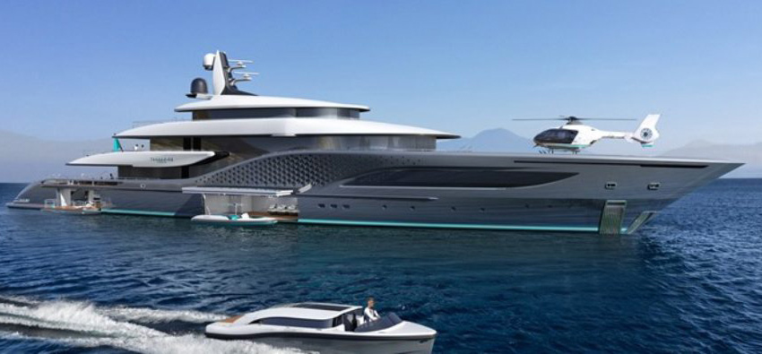 Quantum: A new 77m Turquoise Yacht inspired by Ken Freivokh