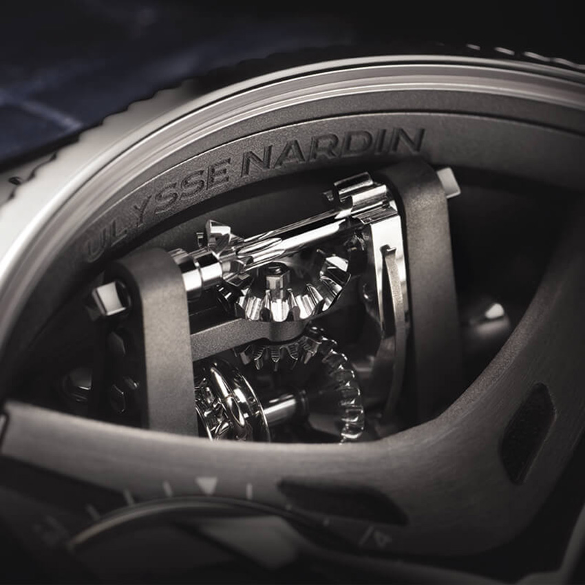 The Marine Mega Yacht Watch by Ulysse-Nardin