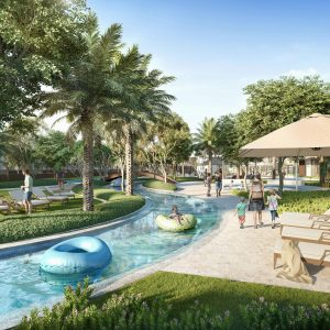 Arabian Ranches III, A New Townhouse Community With A Lazy River in Dubai